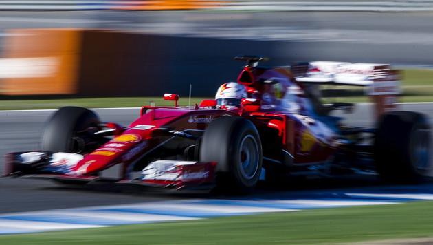 Vettel sauschnell! Bei ersten F-1-Tests der Beste (Bild: APA/EPA/Jorge Zapata)