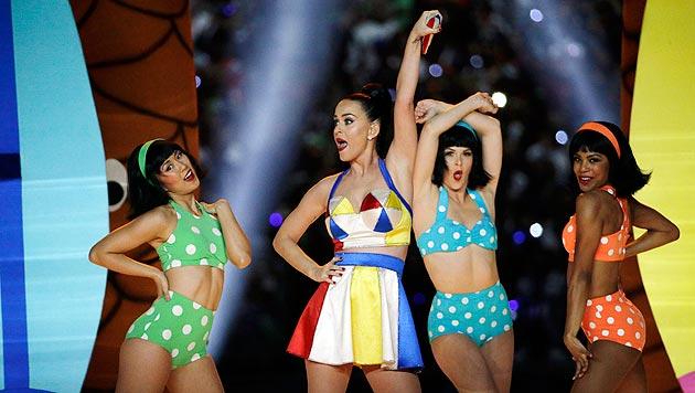 Fetzige Show der Stars beim Super Bowl (Bild: AP)