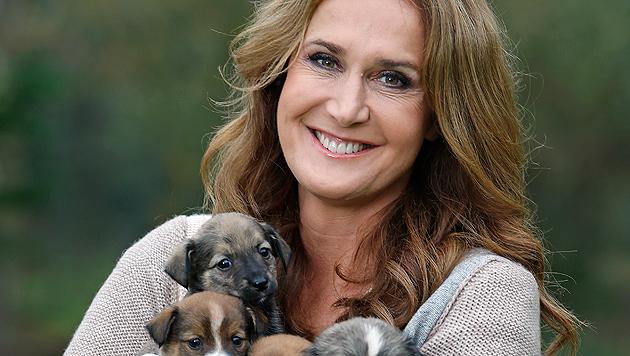 """""""Krone""""-Tierexpertin und ORF-Moderatorin Maggie Entenfellner. (Bild: Reinhard Holl)"""