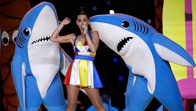 Katy Perry: Heiße Party für Augen und Ohren (Bild: AP)