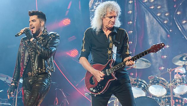 Queen brillierten mit glamouröser Wien-Audienz (Bild: Andreas Graf)
