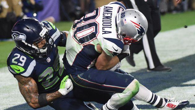Tom Brady und Patriots jubeln über vierten Titel (Bild: AFP/TIMOTHY A. CLARY)