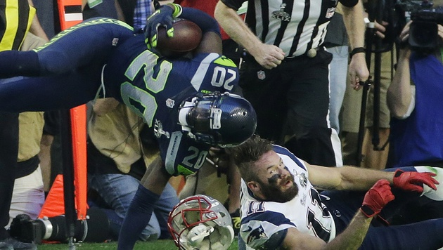 Tom Brady und Patriots jubeln über vierten Titel (Bild: AP/Kathy Willens)