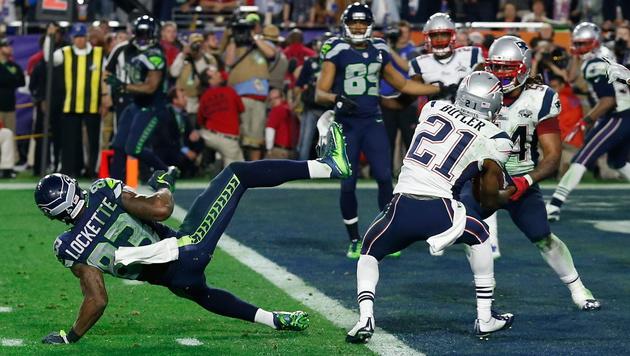 Tom Brady und Patriots jubeln über vierten Titel (Bild: APA/EPA/TANNEN MAURY)