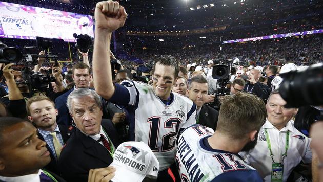 New England Patriots Quarterback Tom Brady (Bild: APA/EPA/TANNEN MAURY)