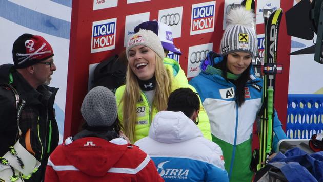 Anna Fenninger holt Gold! WM-Auftakt wie im Traum (Bild: APA/EPA/VASSIL DONEV)