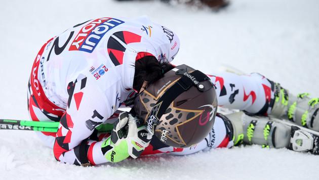 Anna Fenninger holt Gold! WM-Auftakt wie im Traum (Bild: GEPA)