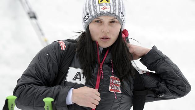 Anna Fenninger - so tickt die Doppel-Weltmeisterin (Bild: APA/HANS KLAUS TECHT)