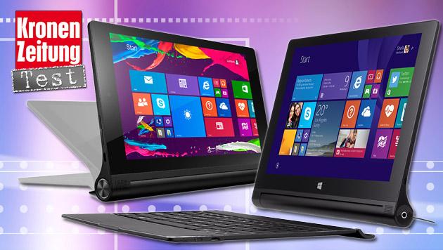 Lenovo Yoga Tablet 2 mit Windows im Test (Bild: thinkstockphotos.de, Lenovo)