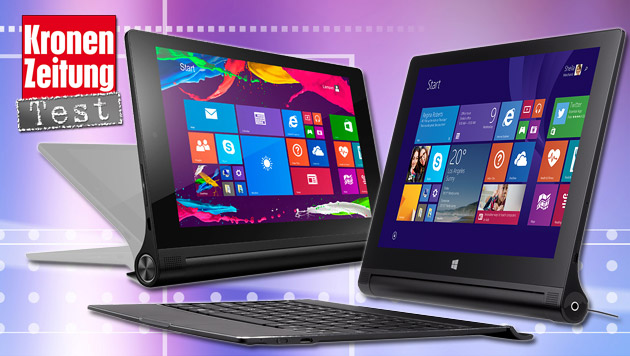 lenovo yoga tablet 2 mit windows im test flexibel. Black Bedroom Furniture Sets. Home Design Ideas