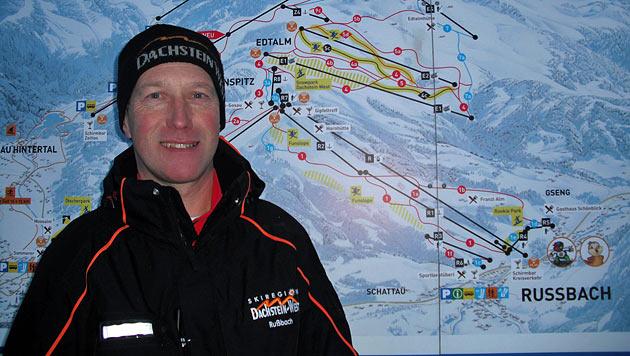 Betriebsleiter Sebastian Schwarzenbacher der Skiregion Dachstein West Rußbach (Bild: Bergbahnen Rußbach)