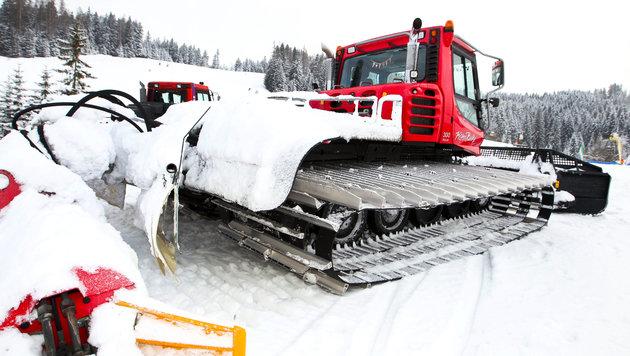 Mit Hupe vermisste Wintersportler aufgespürt (Bild: APA/Neumayr/MMV/Neumayr/MMV (Symbolbild))