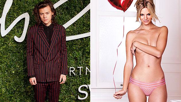Harry Styles: Liebestattoo für Austro-Engel Nadine (Bild: APA/EPA/WILL OLIVER, Victoria's Secret)