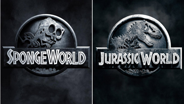 "SpongeBob als Tyrannoschwammus Rex à la ""Jurassic World"" (Bild: UPI)"