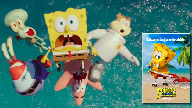 """SpongeBob Schwammkopf 3D"" - ab 19. Februar im Kino (Bild: UPI)"