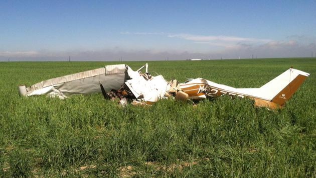 Selfies im Cockpit: Zwei Tote bei Flugzeug-Crash (Bild: AP)