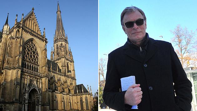 Wolfgang Lassy kämpft gegen das Glockenläuten des Linzer Doms. (Bild: Chris Koller, Horst Einöder)