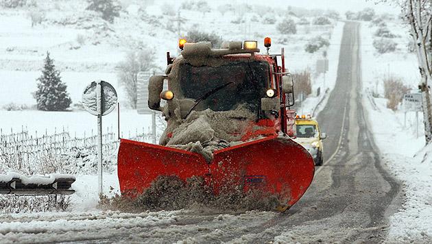 Winter auf Bergen wird kälter (Bild: APA/EPA/JAUME SELLART)