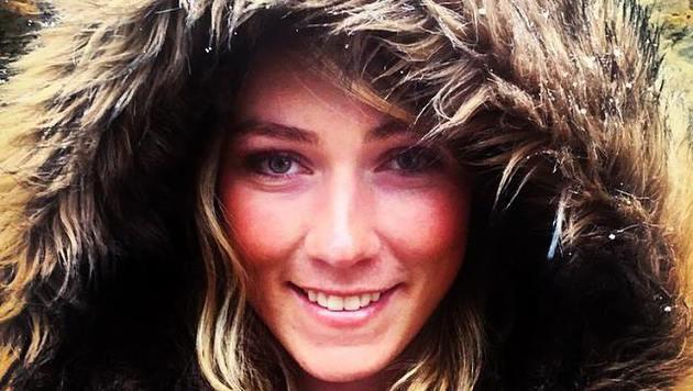 """Ein wunderschönes Porträt der US-Slalom-Queen: """"Smile"""" postet Mikaela Shiffrin auf Facebook. (Bild: facebook.com/Mikaela Shiffrin)"""