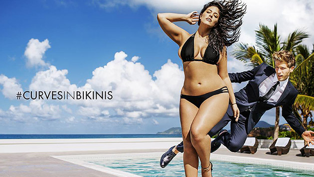 Plus-Size-Model Ashley Graham (Bild: www.facebook.com/SwimSuitsForAll)