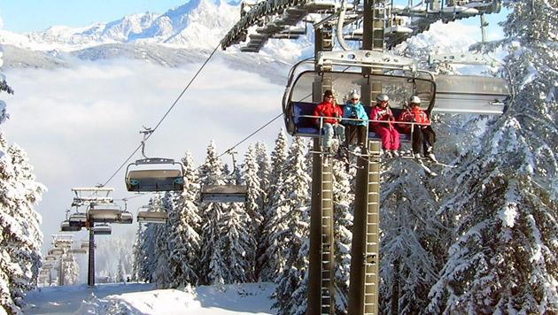 Männer ließen Achtjährigen im Stich - ausgeforscht (Bild: Bergbahnen Flachau GmbH)