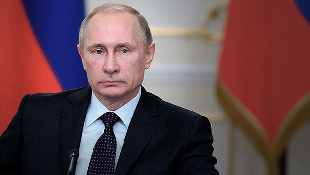 Rückenschmerzen: Wiener Arzt soll Putin behandeln (Bild: AP)