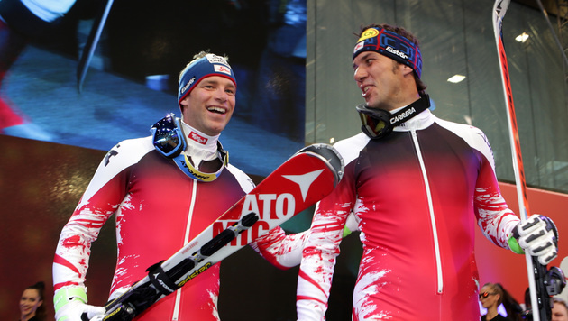 Benjamin Raich und Mario Matt (Bild: GEPA)