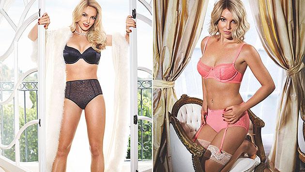 Britney Spears zeigt sich sexy in Dessous. (Bild: twitter.com/britneyspears)