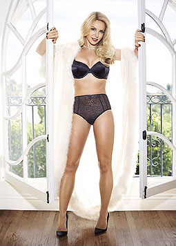 Britney Spears im Modell Elvira aus ihrer Kollektion. (Bild: twitter.com/britneyspears)