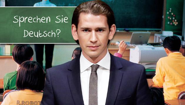 Integrationsgesetz: Die Pl�ne von Minister Kurz (Bild: APA/EPA/JASON SZENES, thinkstockphotos.de)