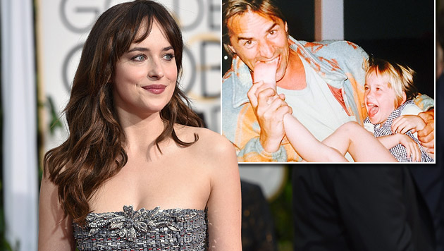 "So süß war ""Shades of Grey""-Star Dakota Johnson (Bild: AP, instagram.com)"