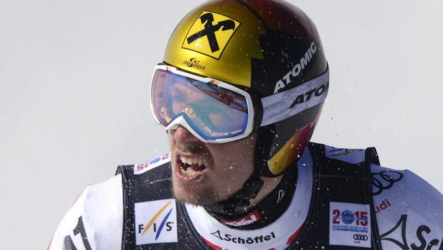 """Hirscher holt Gold in der Super-Kombi! """"Ein Traum"""" (Bild: APA/EPA/HANS KLAUS TECHT)"""