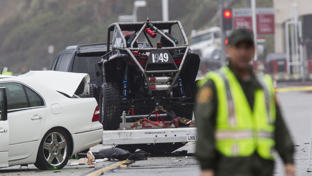 Kardashian-Papa Jenner in Horror-Crash verwickelt (Bild: AP)
