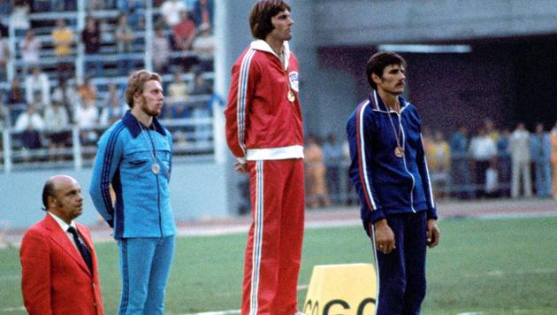 1976 gewann Bruce Jenner olympisches Gold im Zehnkampf. (Bild: AP)