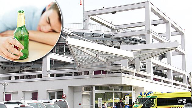 16-Jähriger mit vier Promille ins Spital gebracht (Bild: Christian Jauschowetz, thinkstockphotos.de (Symbolbild))
