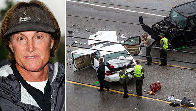 Caitlyn Jenner, damals noch Bruce, war im Februar in einen schweren Unfall verwickelt. (Bild: Richard Shotwell/Invision/AP, AP)