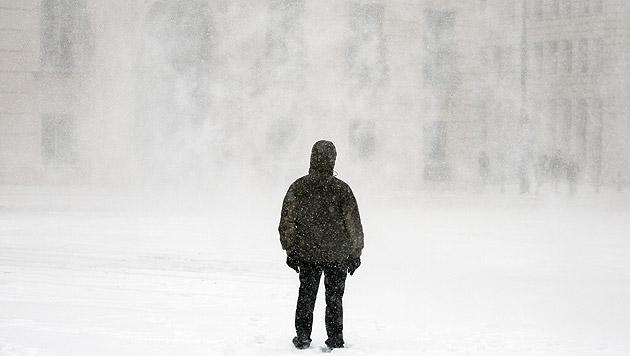 Frau Holle bescherte uns Winter- und Verkehrschaos (Bild: APA/GEORG HOCHMUTH)
