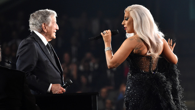 Tony Bennett und Lady Gaga (Bild: John Shearer/Invision/AP)