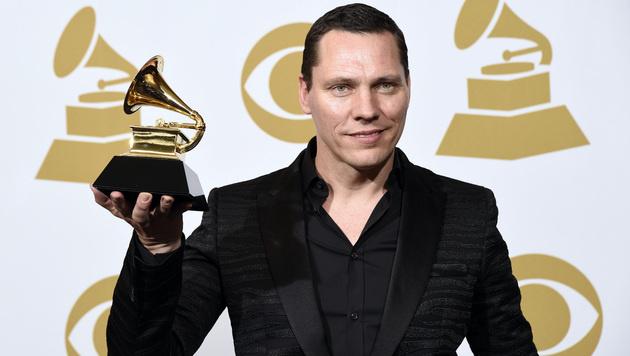 """Tiesto erhielt den Grammy für den besten Remix (""""All of Me""""). (Bild: Chris Pizzello/Invision/AP)"""