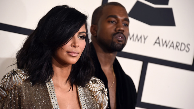 Kim Kardashian und Kanye West (Bild: Jordan Strauss/Invision/AP)