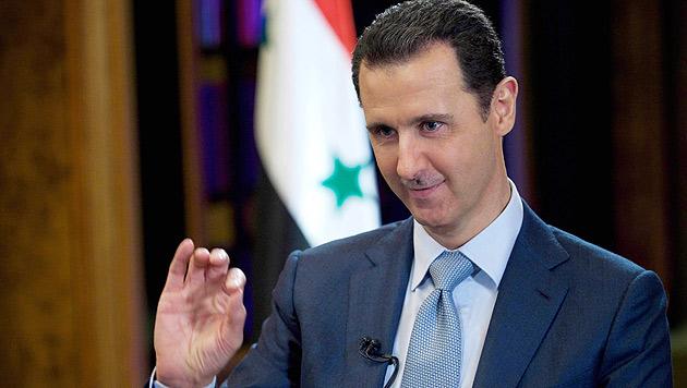 """Assad: Bildung neuer Regierung """"nicht kompliziert"""" (Bild: AP)"""