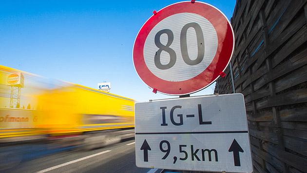 """Flexibler """"Luft-80er"""" startet auf A1 in Salzburg (Bild: Neumayr/MMV (Symbolbild))"""