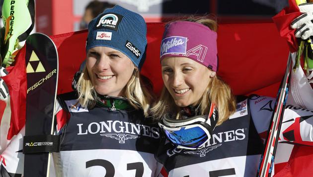 Hosp & Kirchgasser: Medaillen-Ladys im Steckbrief (Bild: AP)
