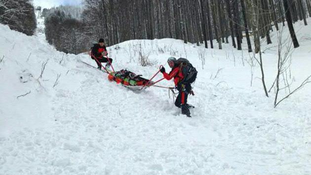 Lawine riss Snowboarder auf der Rax in den Tod (Bild: APA/MAX SCHERZ)