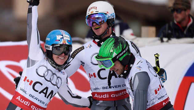 Team Kanada eroberte Silber. (Bild: APA/EPA/JOHN G. MABANGLO)