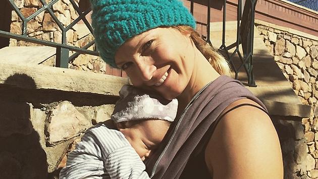 Julia Mancuso hat einen neuen Fan. (Bild: instagram.com/Julia Mancuso)