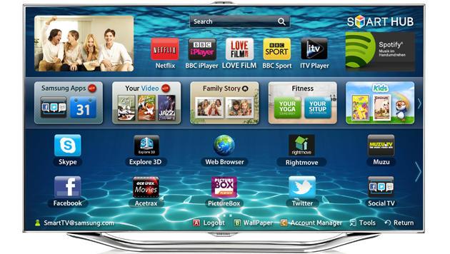 Samsung-TVs zeigen Werbung beim lokalen Streaming (Bild: Samsung)