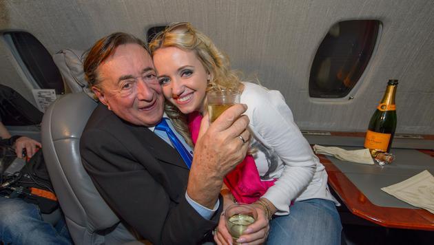 Cathy kuschelt mit ihrem Richard. (Bild: (c) tablera/knipserbande.at)