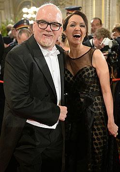 DJ Ötzi mit Ehefrau Sonja (Bild: APA Roland Schlager)