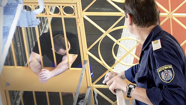 Jeder zweite Häftling ist kein Österreicher (Bild: APA/HELMUT FOHRINGER)